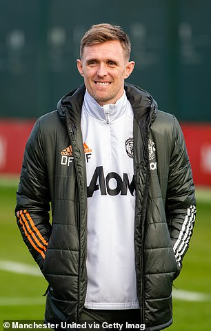 Fletcher is currently one of Ole Gunnar Solskjaer's first-team coaches