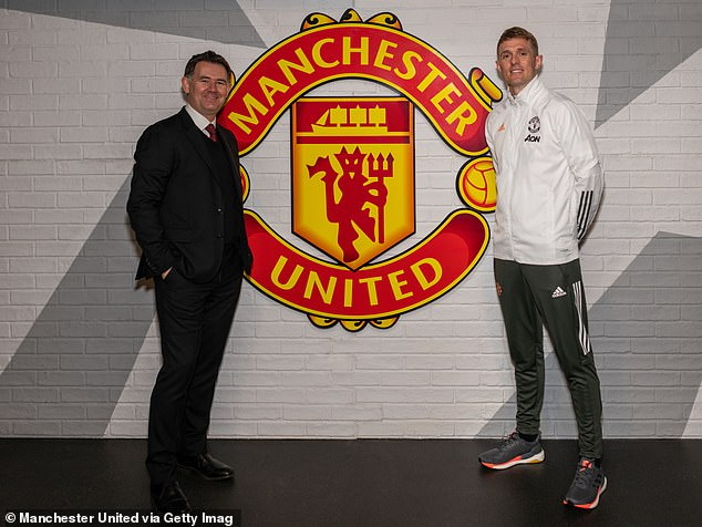 John Murtough (left) has been appointed as Manchester United's new football director