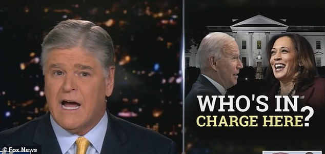 Hannity also criticized Biden for allowing VP Harris to speak with world leaders