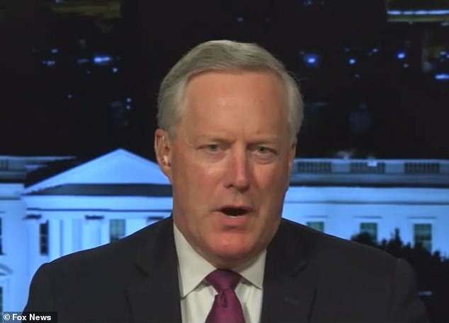 Mark Meadows told Hannity Trump was more focused at 1am than Biden is at 1pm