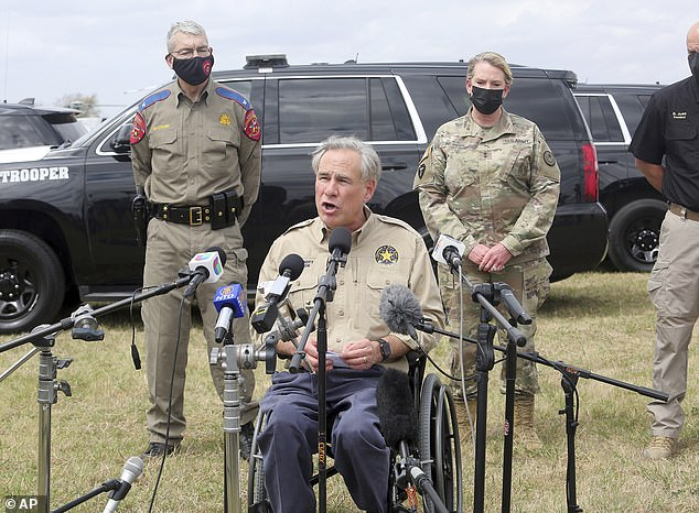 Texas Gov. Greg Abbott said he will deploy 500 Texas National Guard Troops to the border to crack downon migrants trying to cross into the United States