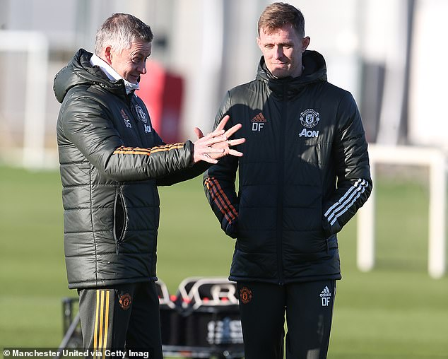 Fletcher will continue his coaching role with Ole Gunnar Solskjaer until the end of the season