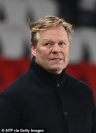 Ronald Koeman insisted Messi could not have 'doubts' over the direction the club was heading in