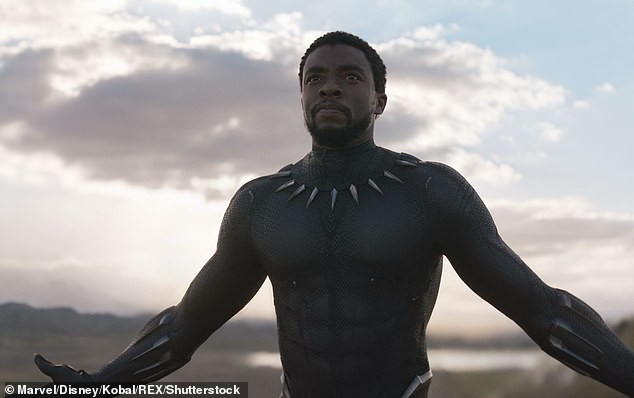 Signature role: Boseman, best known for his role as King T'Challa in Black Panther, has also appeared in films like 42, Marshall, Get on Up, and Draft Day