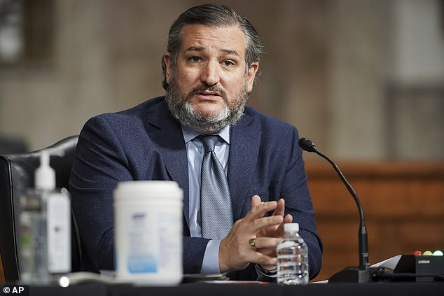Ted Cruz, senator for Texas, was concerned Garland would 'politicize' the Justice Department