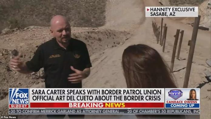 Art Del Cueto, vice president of the National Border Patrol Council, said they were worried about who they failed to stop