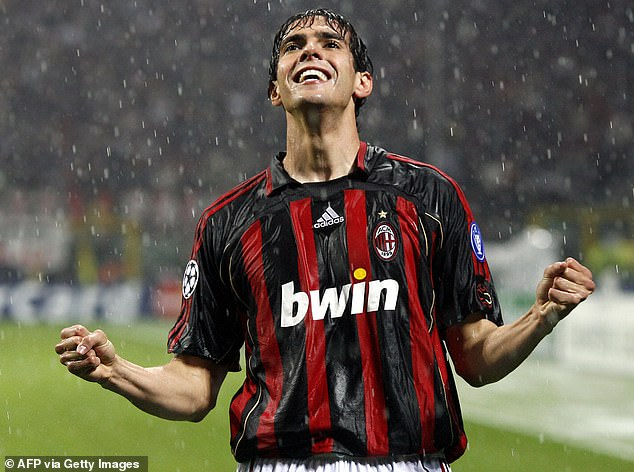 Kaka also netted in the return fixture as Milan overturned a one-goal deficit to progress