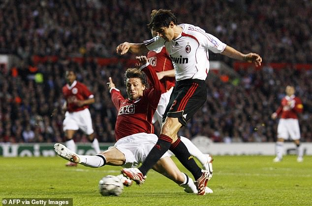 He toyed with United's defenders all game and scored this equaliser before his solo effort