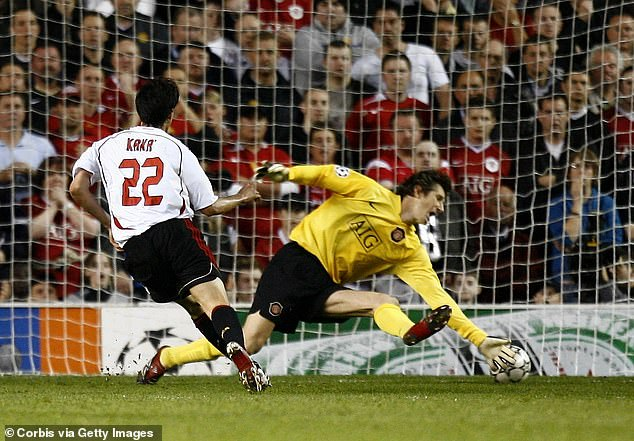 The Brazilian forward scored a memorable individual goal in the first leg at Old Trafford