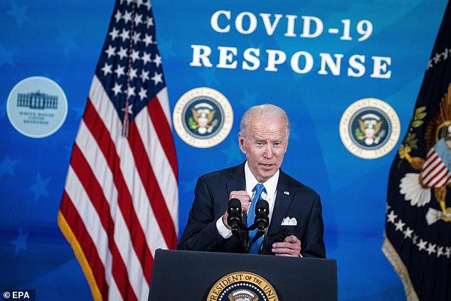 President Joe Biden will hold his first primetime address as president on Thursday as the U.S. hits the one-year mark of coronavirus lockdowns