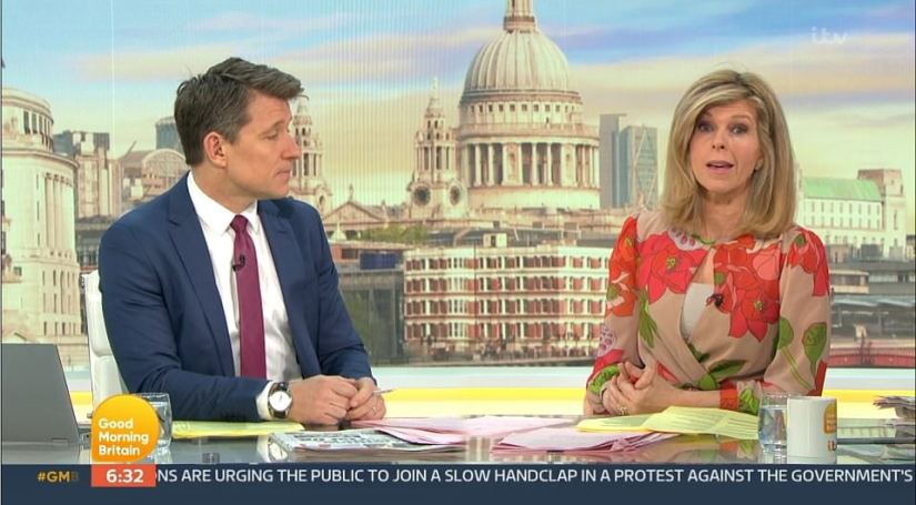 On today's GMB, longtime friend of Mr Morgan, Kate Garraway, paid tribute to him and said that their friendship would go on
