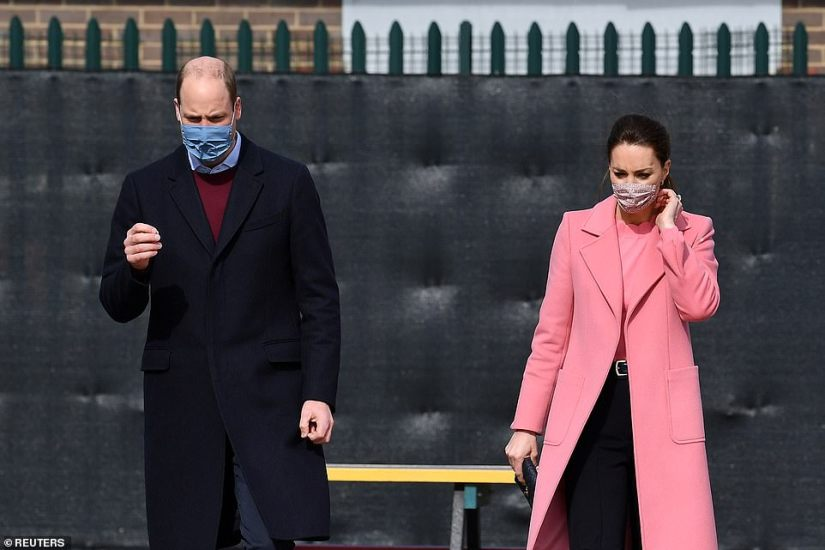 The couple at School21 following its reopening at the start of this week following the easing of lockdown restrictions in England