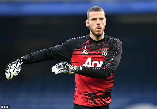However, No 1 keeper David de Gea has returned to Spain following the birth of his daughter