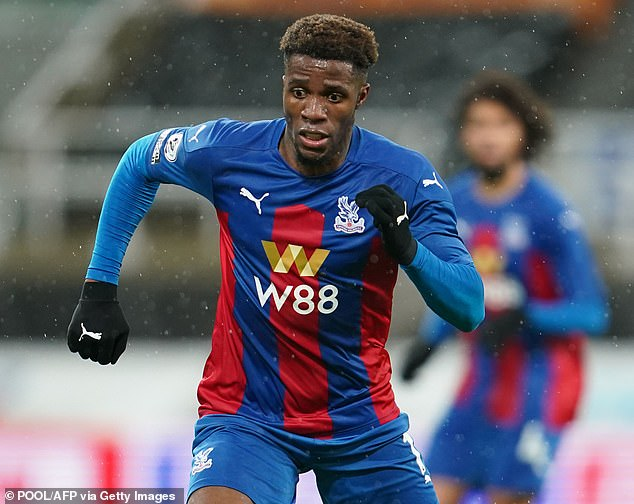 The winger has the support of Crystal Palace bosses, however he plans to proceed from here