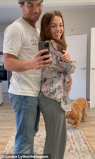 Heartwarming: Last week, Louisa and Ben revealed they are expecting their first child, as she took to Instagram on Mother's Day to make the announcement with a sweet video