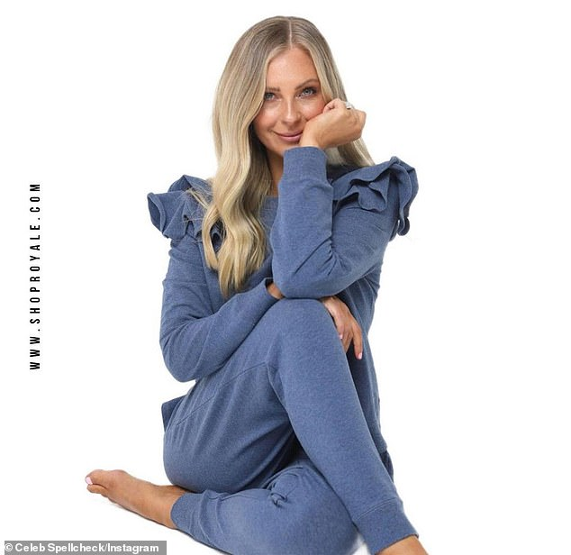 Issues: Lorinska sent the items out to influencers, including Bec, ahead of the brand's official launch.'It's disappointing to see this overshadow such a successful launch week,' she said