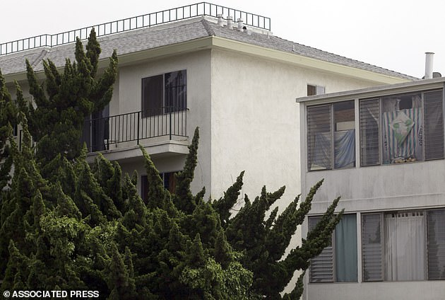 The couple were found hiding out at Princess Eugenia Apartments in Santa Monica in June 2011