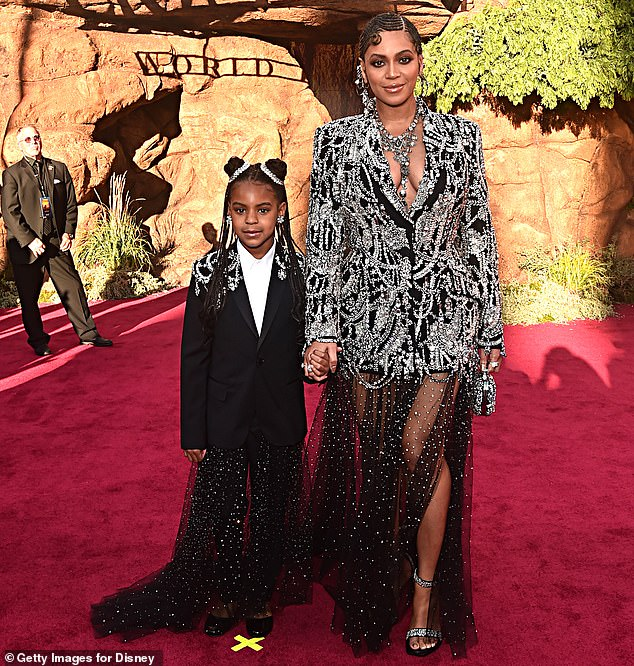 Not happening: Although the hitmaker has been put up for several distinctions, she will not be performing at the Grammy Awards; she is seen with her daughter at the 2019 premiere of The Lion King