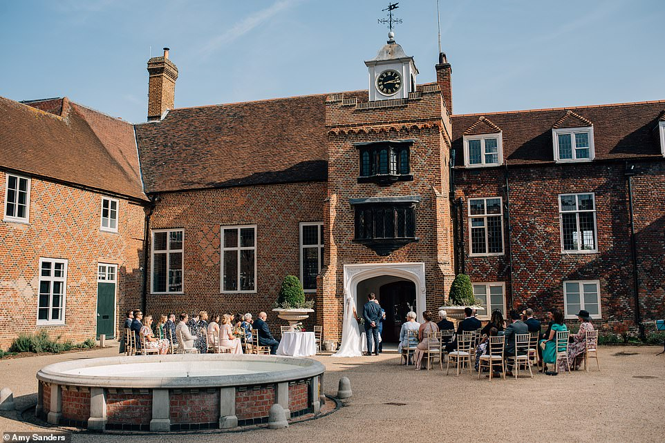 The Tudor courtyard is a star attraction at Fulham Palace, a venue that was once a Thameside home to the Bishops of London