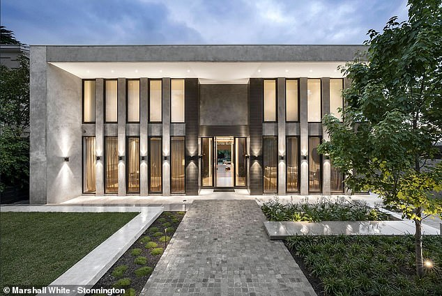 Loaded:According to Domain, the power couple offloaded the five-bedroom property for over $20 million shortly after completing the first inspection