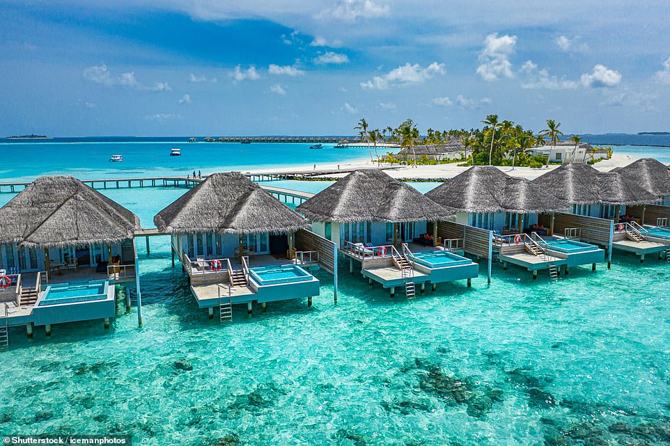 Staying in a water bungalow in the Maldives is the top post-lockdown holiday experience that Britons are dreaming about