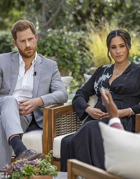 Harry and Meghan have prompted fresh outrage after sharing private conversations with Prince Charles and Prince William with US journalist Gayle King.