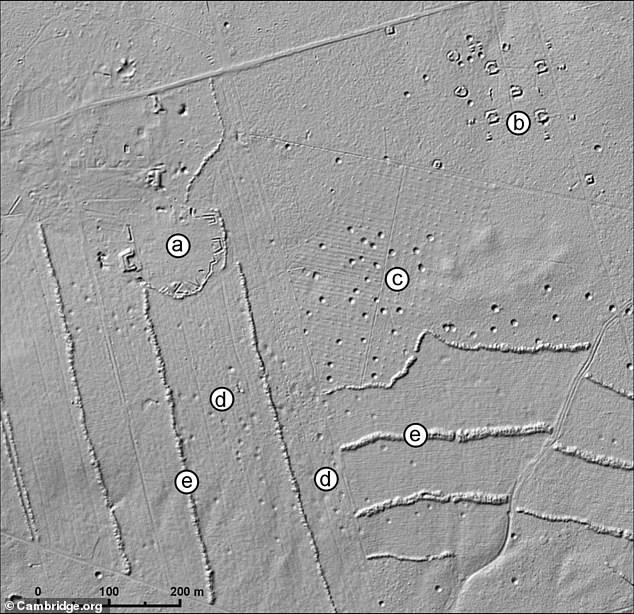 The maps also provided clues to which type of bombs made each of the craters. Of the numerous craters preserved around the Kędzierzyn area, large 500lb bomb craters dominate, with fewer craters left by 250lb bombs