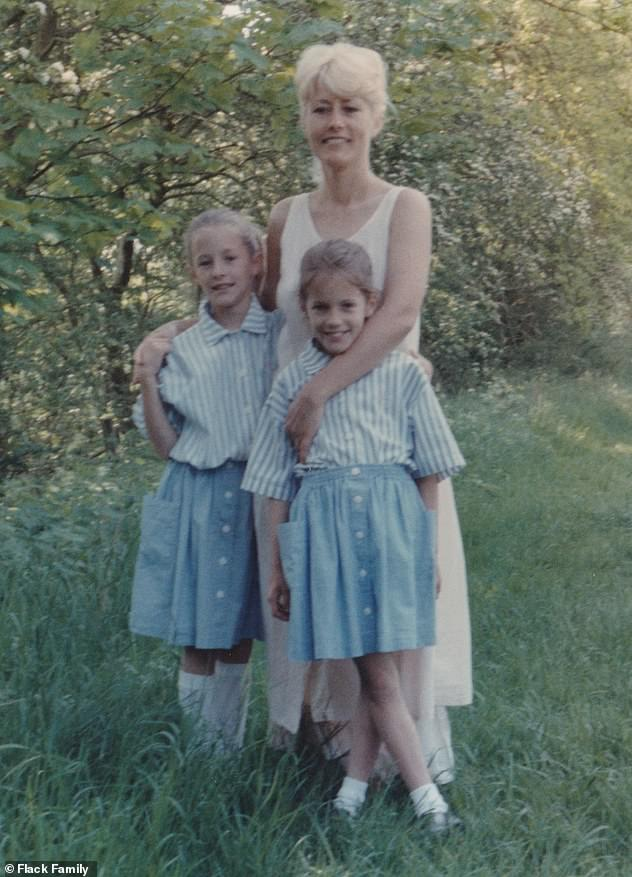 'You always worried': During the Channel 4 documentary, Caroline's mother Christine and her twin sister Jody, 41, spoke about how the presenter was always 'fascinated' by suicide
