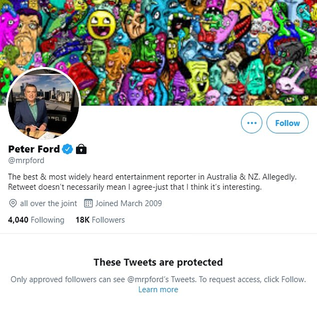 Experience: Ford's 25-plus year career in entertainment journalism includes stints on top Australian talk stations such as 3AW, 2GB, 6PR and 5AA