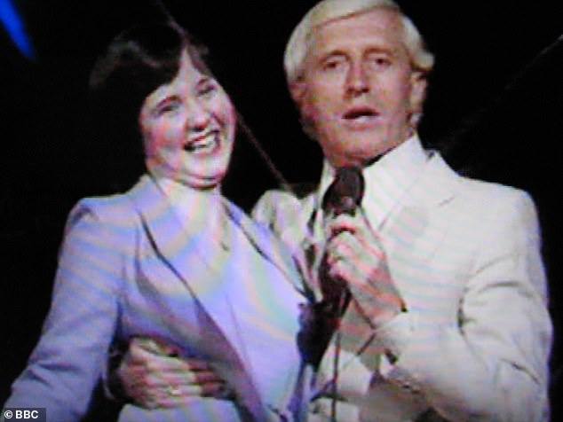 Disturbing: Coleen Nolan has revealed how paedophile Jimmy Savile invited her up to his hotel suite when she was just 14, after a Top Of The Pops recording [pictured in 1979]