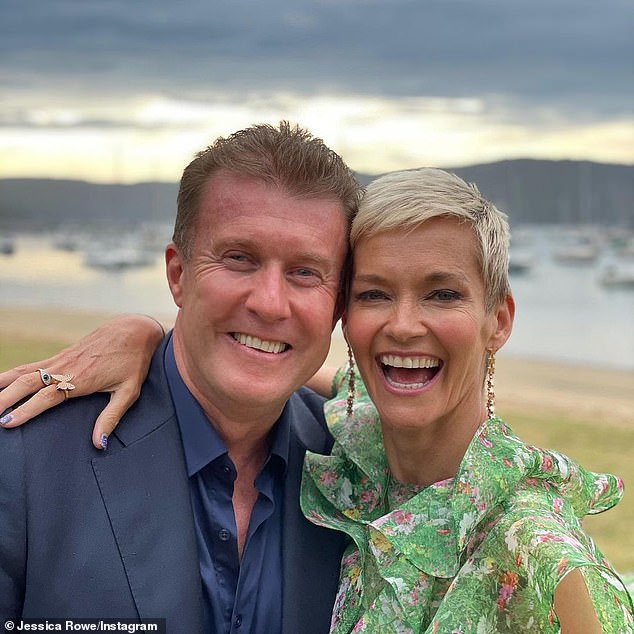 Quality time: Jessica quit her 'dream job' of co-hosting Studio 10 in 2018 to spend more time with her family. She is married to Channel Nine news reader Peter Overton