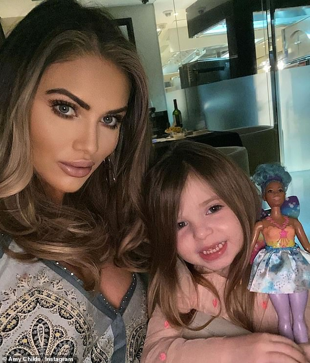 Future:u00A0Amy Childs has revealed she would let her daughter Polly, three, go on a show like Love Island when she's older but insisted shes' not 'one of those pushing mums'