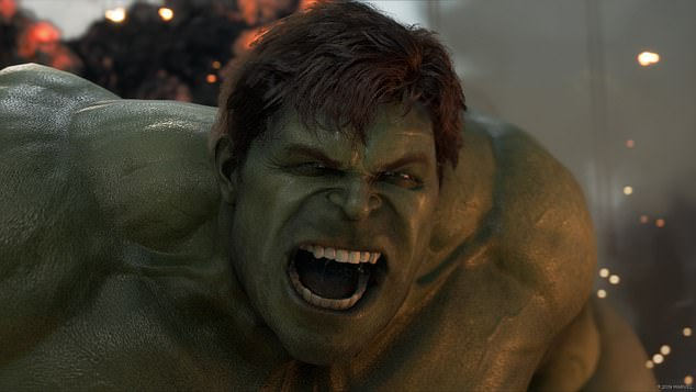 The Incredible Hulk is one of many Marvel favourites who is a playable character in the game