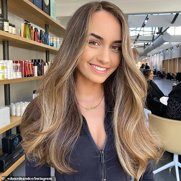Mr Edwards has seen demand for the easily managed hair colours such as bronde increase since lockdown when everyone u00BF even the most high maintenance Australians u00BF was forced to go back to basics