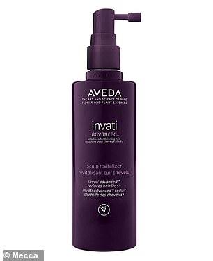 As well as Aveda's Invati Advanced Scalp Revitalizer