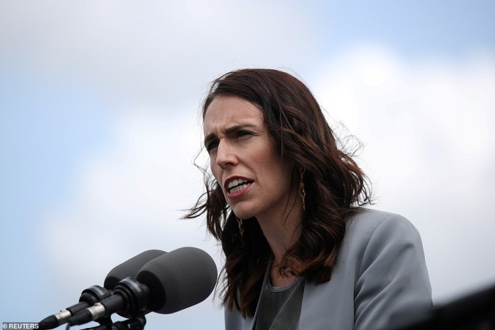 New Zealand Prime Minister Jacinda Ardern closed the country's borders to all but residents and citizens