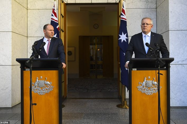 Australian Prime Minister Scott Morrison announced he would close the nation's borders from 9pm the following evening in a bid to prevent the spread of coronavirus