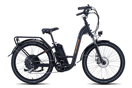 Pictured, a blacku00A0RadCity Step-Thru 3 electric bicycle. It retails at $1,499 (u00A31,080) and is also available in white