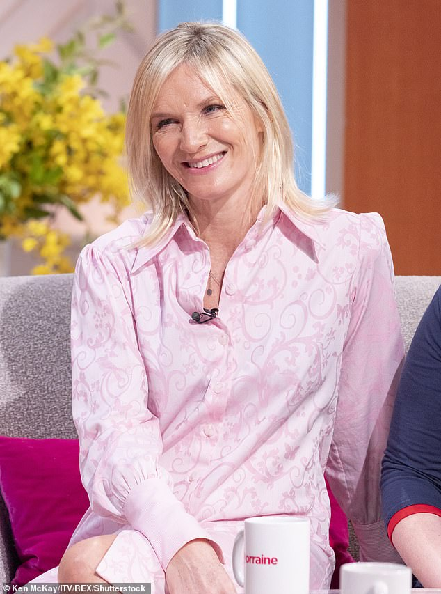 Relief:u00A0The Radio 2 presenter, 55, revealed her excitement at the news that her younger sibling Francis, 53, will get her first dose of the vaccine this weekend, weeks after Jo got her own jab