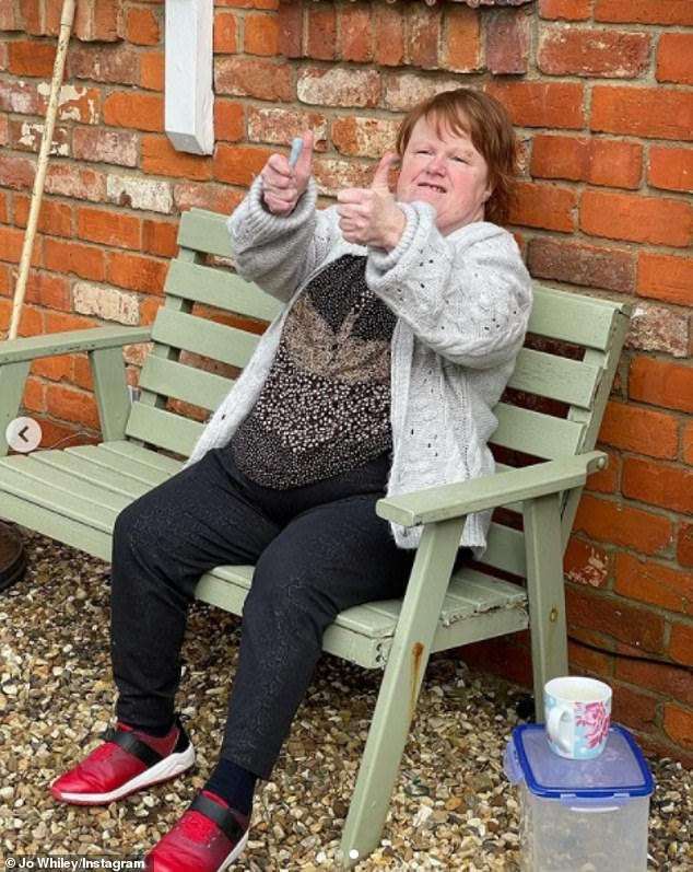 'Could not be happier': 'You have to wait a month after you have had Covid but it finally comes this weekend so we could not be happier about that as well'