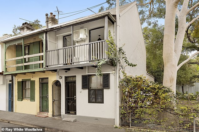 This three bedroom terrace at 37 Vine Street, Darlington is for sale at Sydney\'s median house price of $1.15million. One estimate says it would take Sydneysiders 11 years to save a 20 per cent deposit for the home