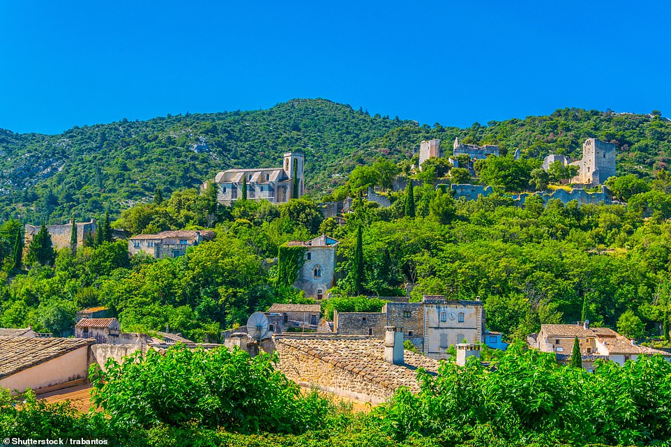 The Daily Mail's Christopher Hart recalls a blissful trip to Oppede-le-Vieux in Provence, France