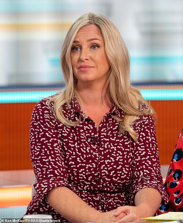 Shocking:u00A0Josie Gibson has claimed the police did nothing to help after her sister and dog were attacked by a 'young male'