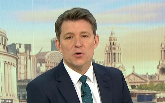 Ben Shephard has been chosen to replace Piers Morgan as co-presenter of Good Morning Britain, The Mail on Sunday understands