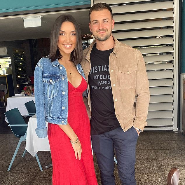 It's official! Inside Jess Ingham and Roger Zraika's (pictured) intimate wedding in Sydney - as it's revealed she wore a stunning $20,000 Vera Wang dress