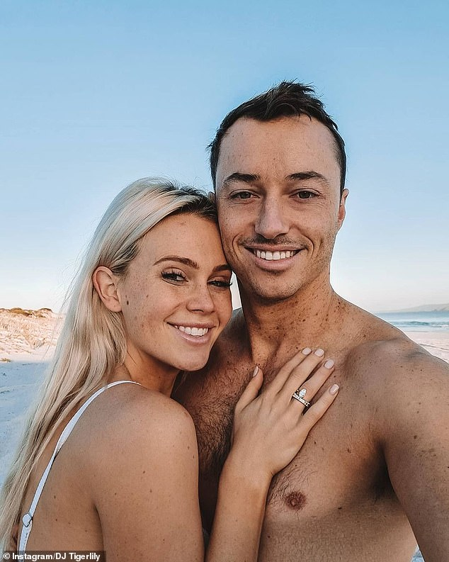 Exciting! The music producer, whose real name is Dara Hayes, posted a photo alongside her beau to Instagram and shared the exciting news