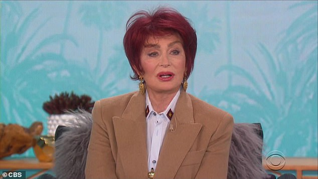 Actions have consequences: However, CBS has extended the daytime talk show's hiatus pending an internal review into alleged racially-insensitive remarks by Amanda's co-host Sharon Osbourne