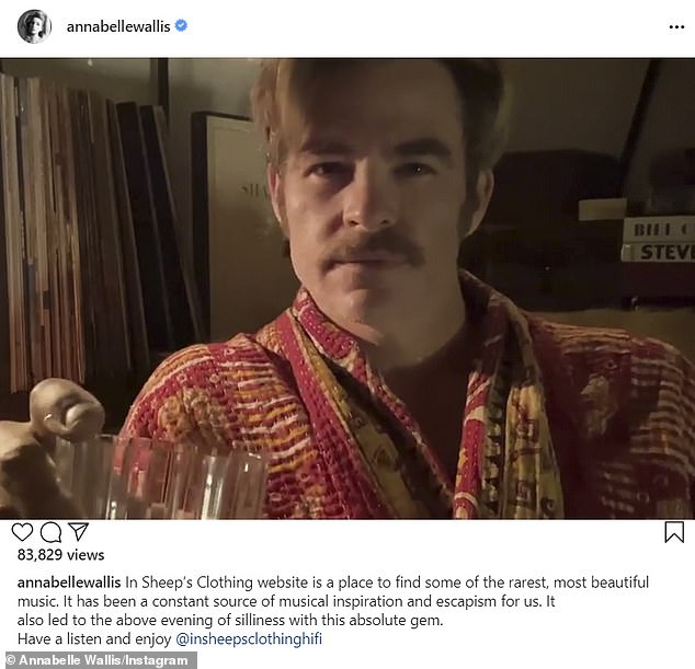 Still going strong? However, Annabelle did repost Bryan Ling's outtake-filled promo Chris starred in for vinyl seller In Sheep's Clothing back in November