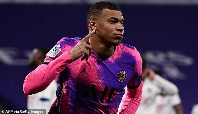 Kylian Mbappe is alongside Foden, Saka and Joao Felix with a transfer value of £ 103-130million