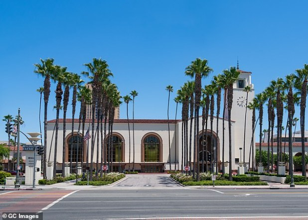 I love LA: Union Station was listed on the National Register of Historic Places in 1980 and serves more than 110,000 passengers per day as one of the busiest train stations in the entire country.